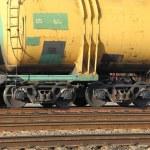 Freight train passing — Stock Photo #71303393