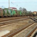 Freight Train — Stock Photo #74057517