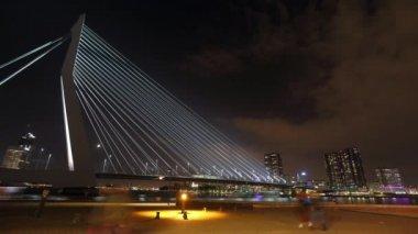 Cable bridge — Stock Video