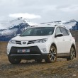 Постер, плакат: Toyota RAV4 on terrain