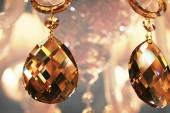 Pingentes de cristal — Fotografia Stock