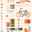 Travel Infographic Template. — Cтоковый вектор #54307275