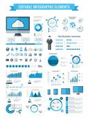 Technology Infographic Elements — Stock Vector