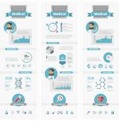 Healthcare Infographic Elements. — Stock Vector