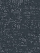 Algebra formula — Stock Vector