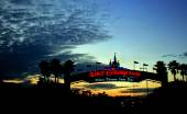 Walt Disney World Sunset — Stock Photo