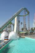 Perilous Plunge at Knott's Berry Farm — Stock Photo
