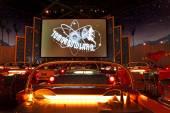 Sci-Fi Dine-In Theater — Stock Photo