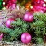 The New year's balls — Stock Photo #58514255
