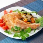 Fried chicken — Stock Photo #62189083