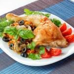 Fried chicken — Stock Photo #62189085