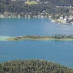 Panoramic View of Lake Worthersee — Stock Photo #52809287