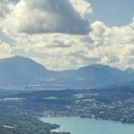 Panoramic View of Lake Worthersee — Stock Photo #52809367