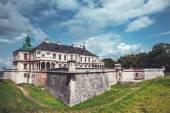 Old Pidhirtsi Castle, village Podgortsy, Renaissance Palace, Ukr — Stock Photo