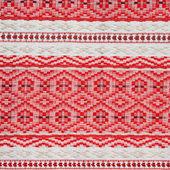 Embroidered ethnic Belarus pattern — Stockfoto