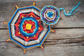Knitted mandala — Foto Stock