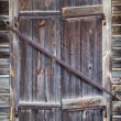 Rustic window of old wooden house — Stock Photo #56222697