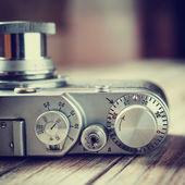 Retro film camera. — Stock Photo