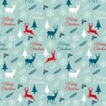 Seamless Christmas pattern, vector — Stock Vector #58973245