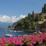 View of Varenna on Como lake — Stock Photo #51887525