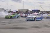 Autofestival 2014, drift. — Stockfoto