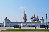 The Tobolsk Kremlin in a summer sunny day, Russia. — Fotografia Stock
