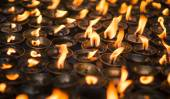 Large group of Candles — Stock Photo