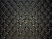Black leather pattern — Stock Photo