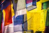 Colorful Prayer flags — Стоковое фото