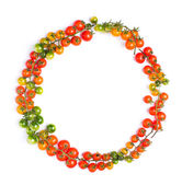 Healthy tomatoes circle — Стоковое фото