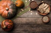 Cookies with pumkins — Stock fotografie