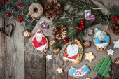 Christmas pastry and  cookies — Foto de Stock
