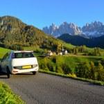 Постер, плакат: Dolomites road trip