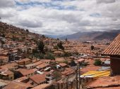 The roofs of Cusco — Stock Photo