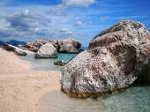 Rocky beach in Sardinia — Stock Photo