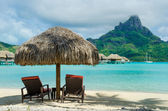 Bora Bora beach — Stock Photo
