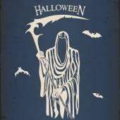 Halloween grim reaper — Vecteur