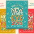 New Years Eve party invitation — Stock Vector #57665303