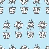 Vector seamless background. wallpaper with a repeating pattern o — Stockvektor