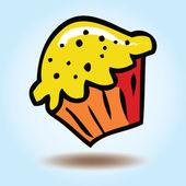 矢量蛋糕 — 图库矢量图片
