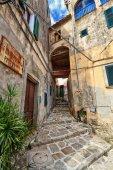 Elba Island - old town in Marciana — Stock fotografie