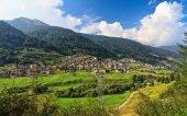 Trentino - Vermiglio in Val di Sole — Stock Photo
