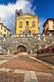 Church in Pontedilegno — Stock Photo