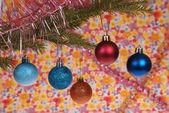 Weihnachtsbaum-Outfit, Weihnachten Spielzeug — Stockfoto