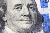 Portrait of Benjamin Franklin — Stock Photo