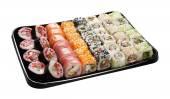 Uppsättning av japansk sushi — Stockfoto