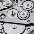 Clock mechanism with gears — Stock Photo #67425437