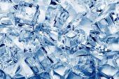 Ice cubes close-up — Stock Photo