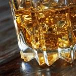 Whiskey in glasses — Stock Photo #74793807