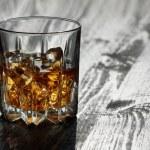 Whiskey in glasses — Stock Photo #74793881